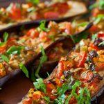 Melanzane e pomodorini al forno