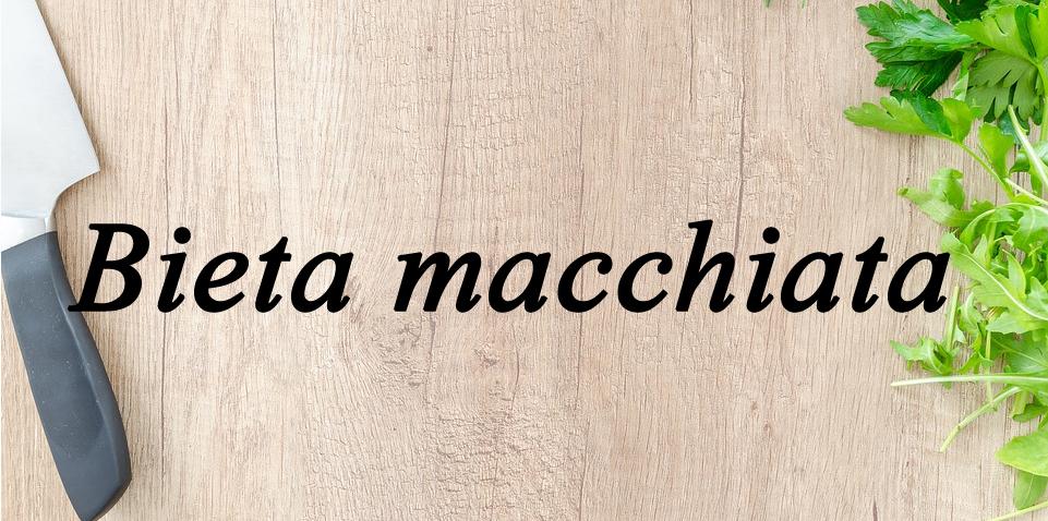 Bieta macchiata