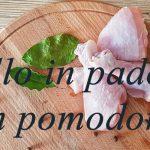 Pollo in padella con pomodorini